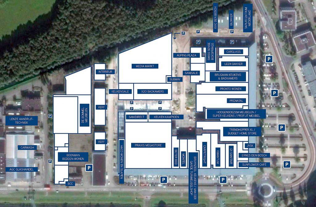 Retailpark Den Bosch | Situatiebeschrijving