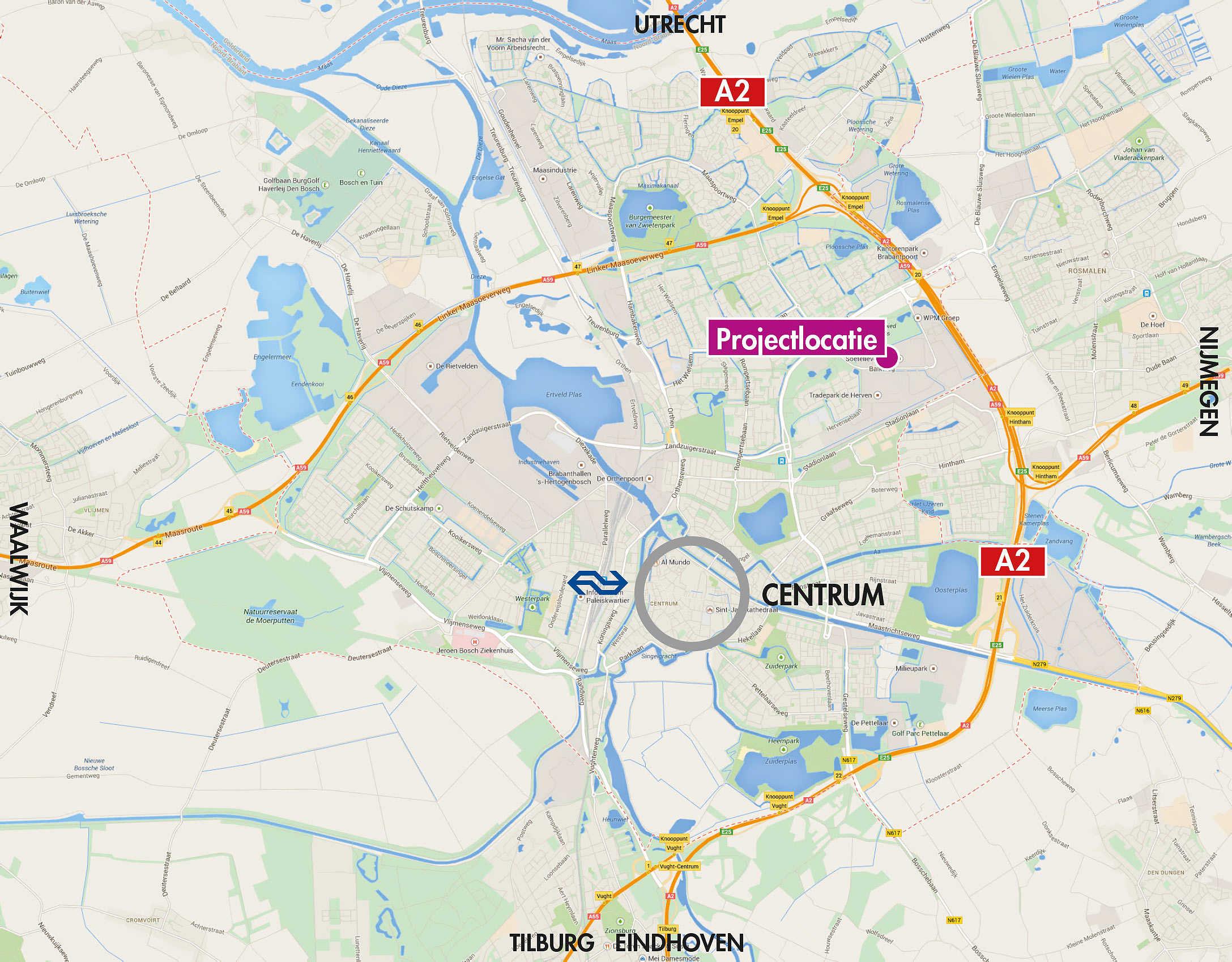Projectlokatie Retailpark Den Bosch